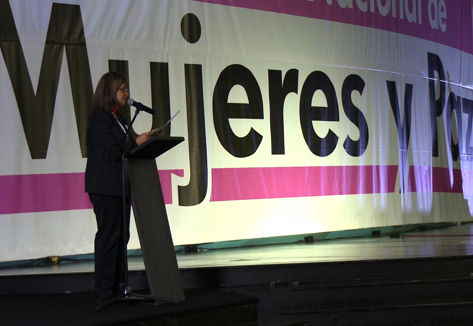 Cumbre Nacional Mujeres y Paz